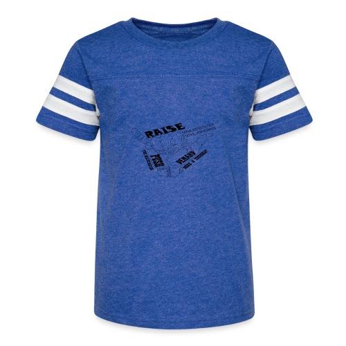 PJeans1 - Kid's Vintage Sport T-Shirt