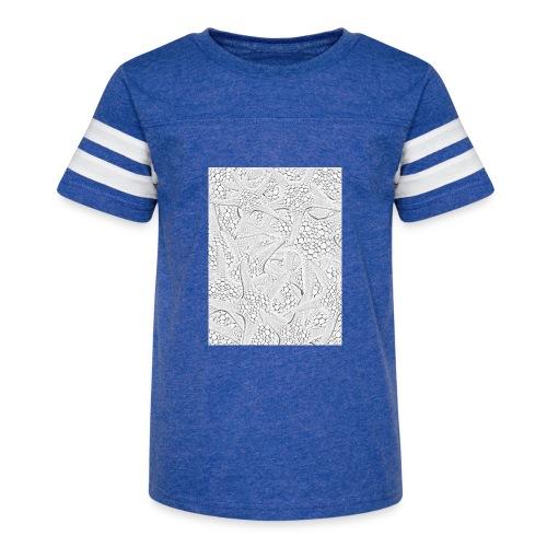 Starfish black and white - Kid's Vintage Sport T-Shirt