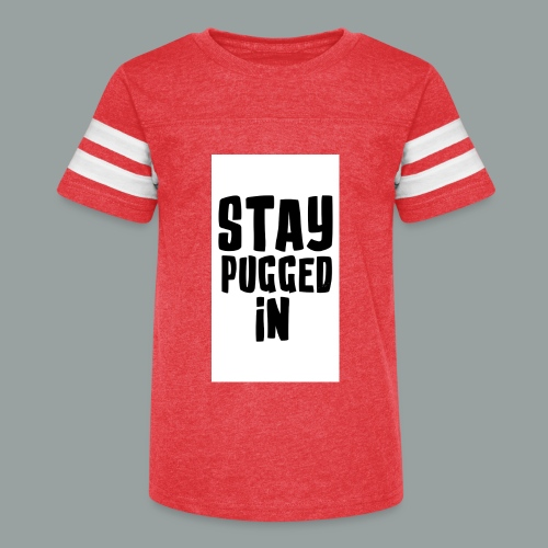 Stay Pugged In Clothing - Kid's Vintage Sport T-Shirt