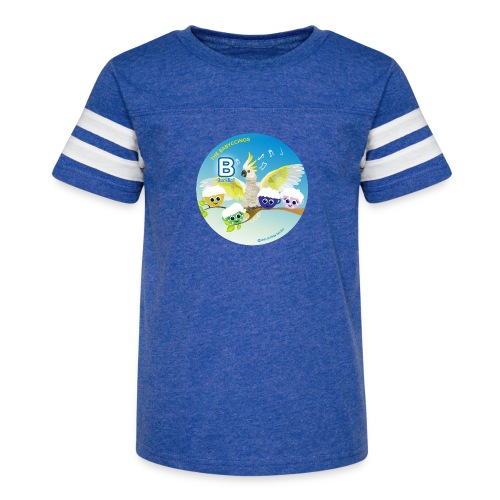 The Babyccinos Alphabet The Letter B - Kid's Vintage Sports T-Shirt