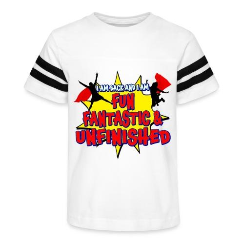 Unfinished girls jumping - Kid's Vintage Sport T-Shirt