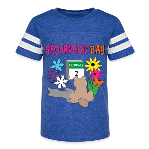 Groundhog Day Dilemma - Kid's Vintage Sport T-Shirt