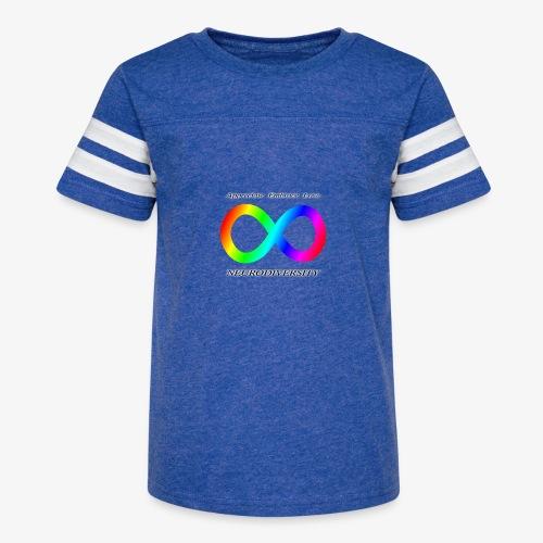 Embrace Neurodiversity - Kid's Vintage Sport T-Shirt