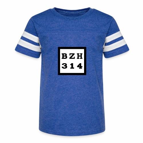 BZH314 Games Big Logo - Kid's Vintage Sport T-Shirt