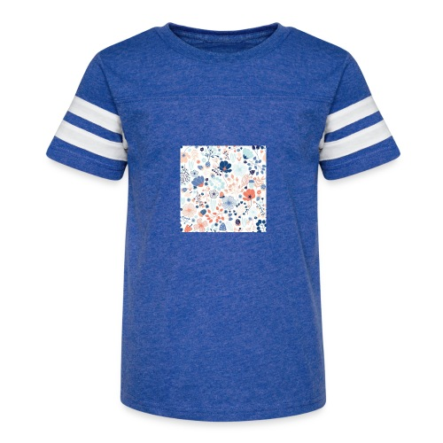 flowers - Kid's Vintage Sport T-Shirt