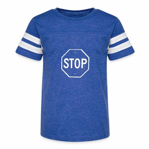 Stop 2 - Kid's Vintage Sport T-Shirt