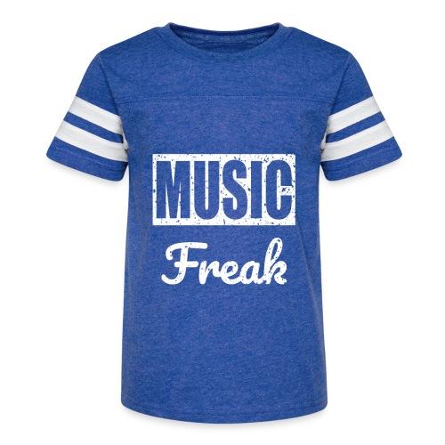 Music Freak T-Shirt - for all music lover - Kid's Vintage Sport T-Shirt