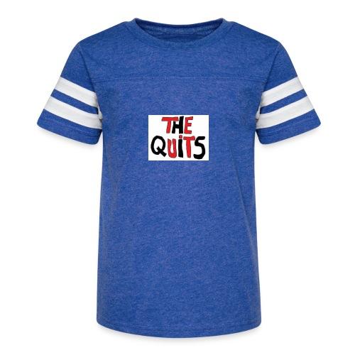 quits logo - Kid's Vintage Sport T-Shirt