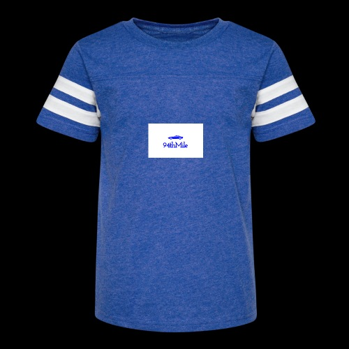 Blue 94th mile - Kid's Vintage Sport T-Shirt