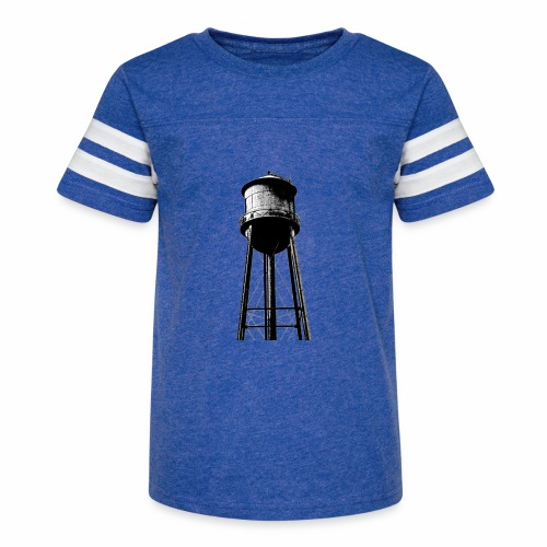 Water Tower - Kid's Vintage Sport T-Shirt