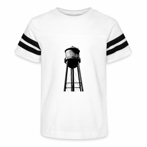 Water Tower - Kid's Vintage Sport T-Shirt