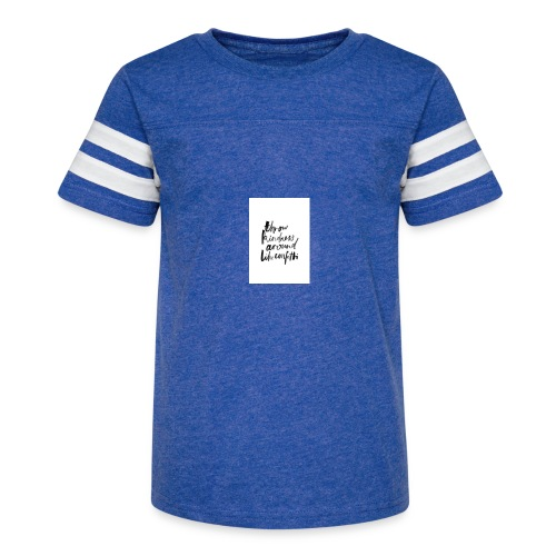 Throw kindness around - Kid's Vintage Sport T-Shirt