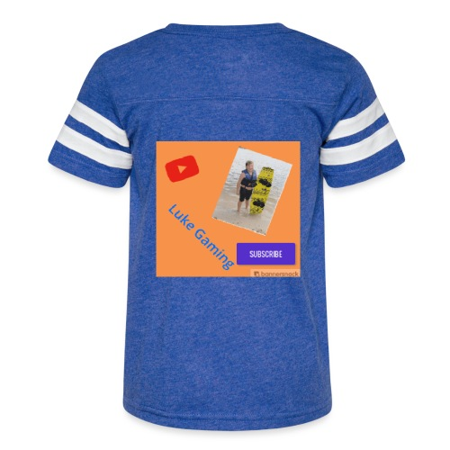 Luke Gaming T-Shirt - Kid's Vintage Sport T-Shirt