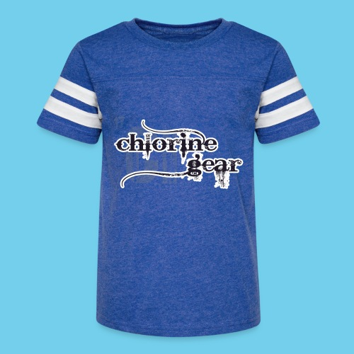 Chlorine Gear Textual stacked Periodic backdrop - Kid's Vintage Sport T-Shirt