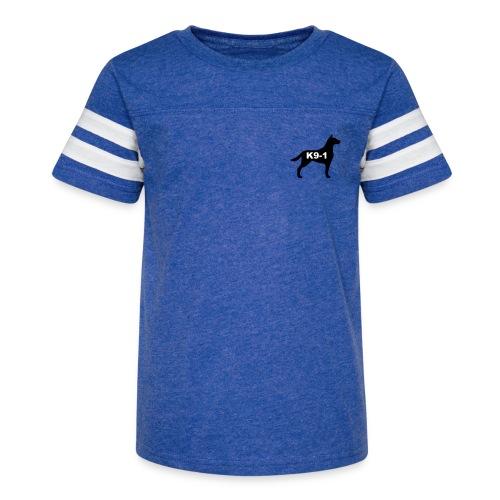 k9-1 Logo Large - Kid's Vintage Sport T-Shirt