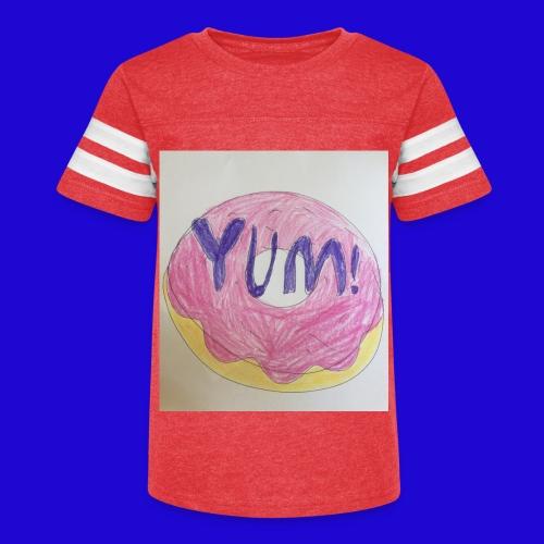 Yum! - Kid's Vintage Sport T-Shirt