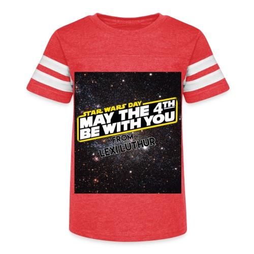 STAR WARS DAY CLOTHES - Kid's Vintage Sport T-Shirt