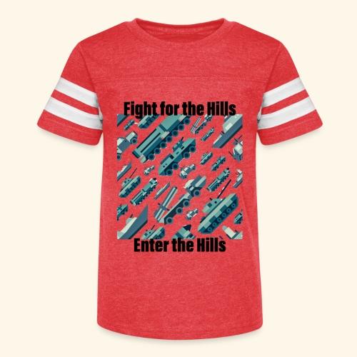 Fight or Enter - Kid's Vintage Sport T-Shirt