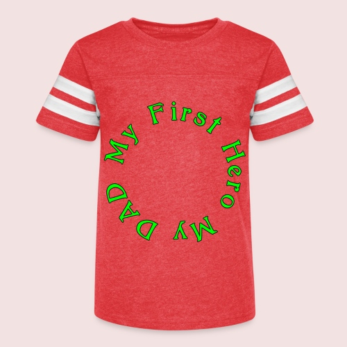 HAPPY FATHER'S DAY - Kid's Vintage Sport T-Shirt