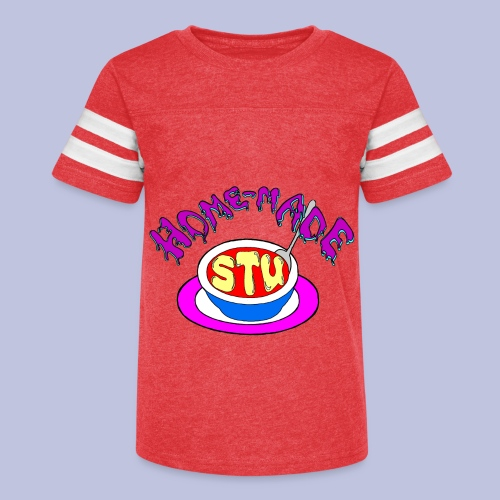 home made stu Logo - Kid's Vintage Sport T-Shirt