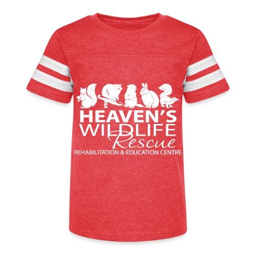 HWR White - Kid's Vintage Sport T-Shirt