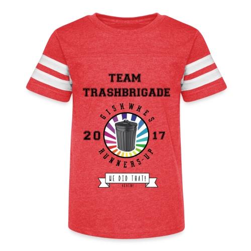 TrashBrigade 2017 - Kid's Vintage Sport T-Shirt