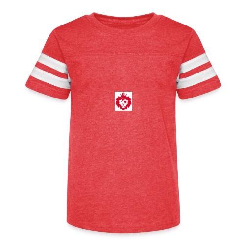 E JUST LION - Kid's Vintage Sport T-Shirt