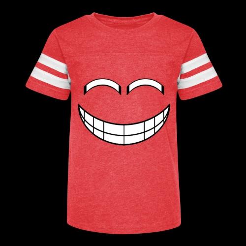 Empty Grin - Kid's Vintage Sport T-Shirt