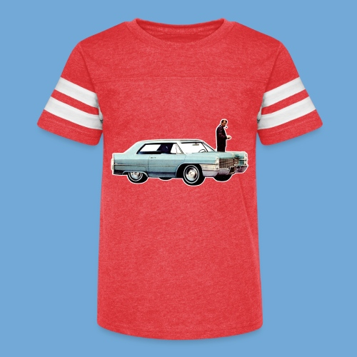 Cadillac 1965 - Full color. - Kid's Vintage Sport T-Shirt