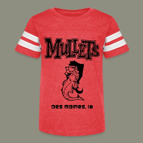 mulletmain black - Kid's Vintage Sport T-Shirt