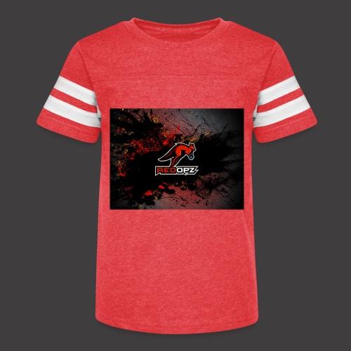RedOpz Splatter - Kid's Vintage Sport T-Shirt