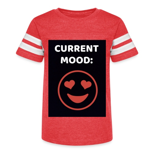 Love current mood by @lovesaccessories - Kid's Vintage Sport T-Shirt