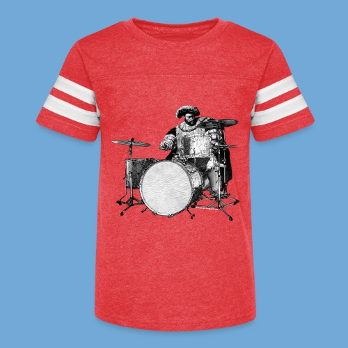 Henry the Eighth Drums - Kid's Vintage Sport T-Shirt