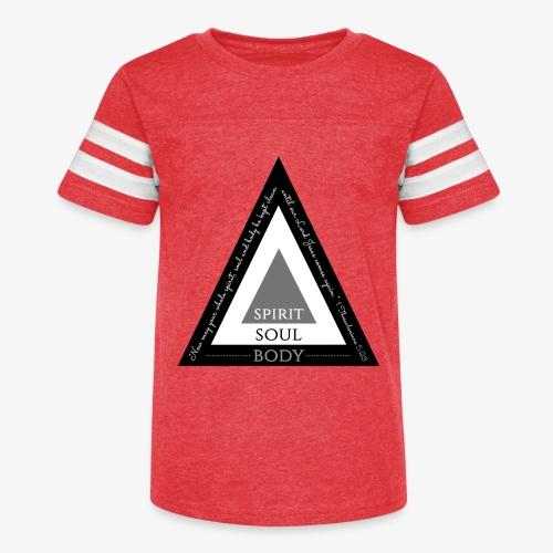 Spirit Soul Body - Kid's Vintage Sport T-Shirt