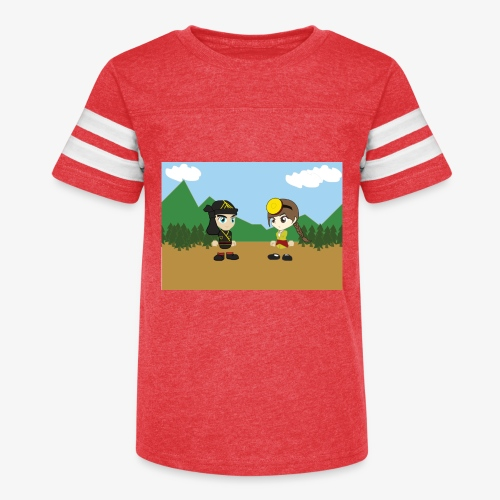 Digital Pontians - Kid's Vintage Sport T-Shirt