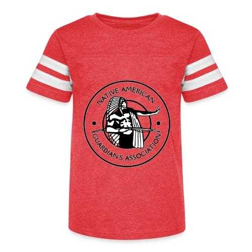 Naga LOGO Outlined - Kid's Vintage Sport T-Shirt
