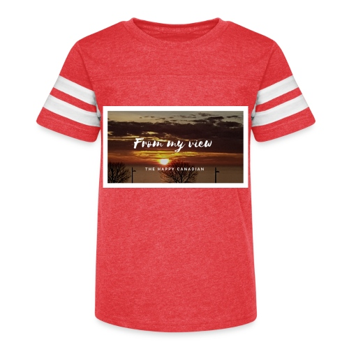 THE HAPPY CANADIAN - Kid's Vintage Sport T-Shirt