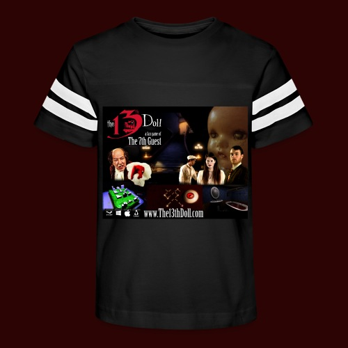 The 13th Doll Cast and Puzzles - Kid's Vintage Sport T-Shirt