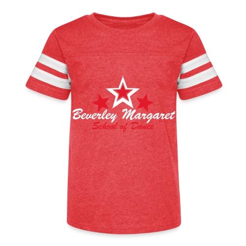 on black - Kid's Vintage Sport T-Shirt