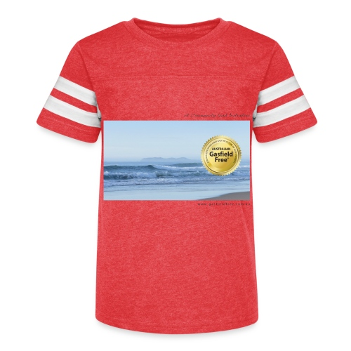 Beach Collection 1 - Kid's Vintage Sport T-Shirt