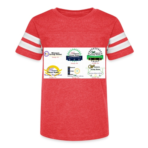 Winners Group Home - Kid's Vintage Sport T-Shirt