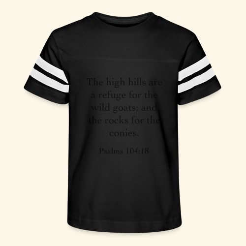 High Hills KJV - Kid's Vintage Sport T-Shirt