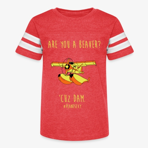 Are you a Beaver? - Kid's Vintage Sport T-Shirt