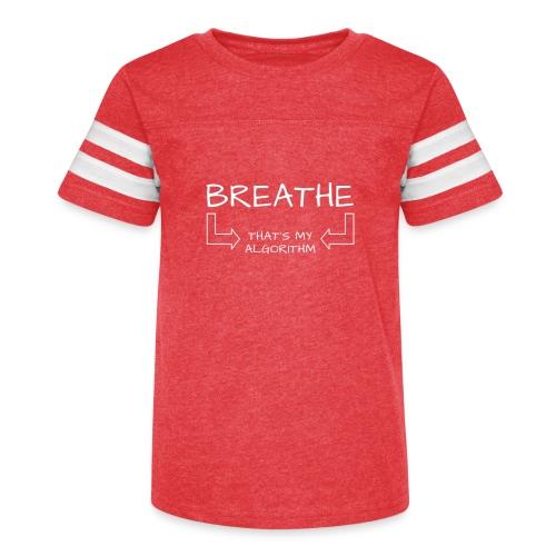 breathe - that's my algorithm - Kid's Vintage Sport T-Shirt