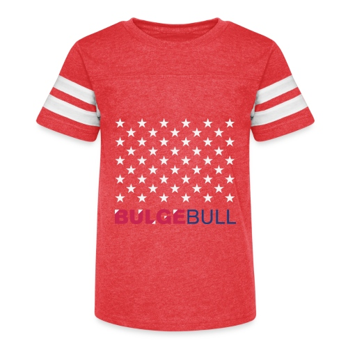 BULGEBULL JULY 4TH - Kid's Vintage Sport T-Shirt