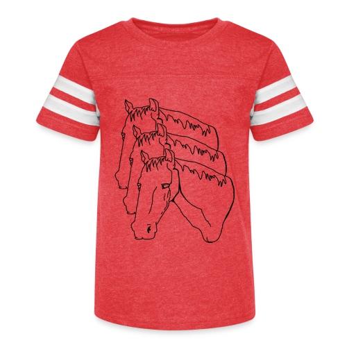 horsey pants - Kid's Vintage Sport T-Shirt