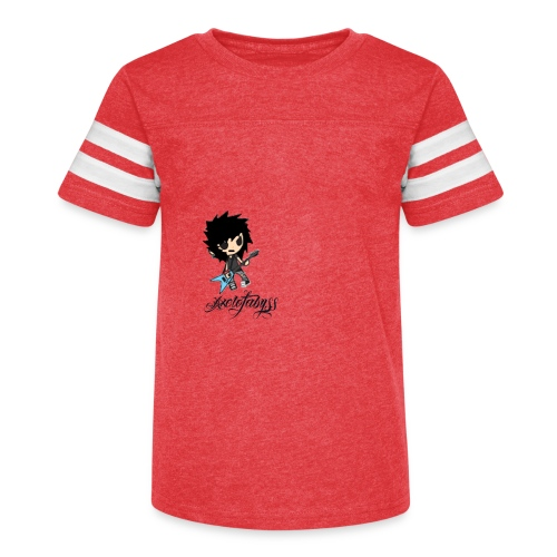 axelofabyss self portrait - Kid's Vintage Sport T-Shirt