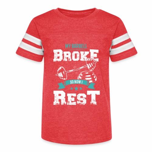 Workout Resting Time - Kid's Vintage Sport T-Shirt