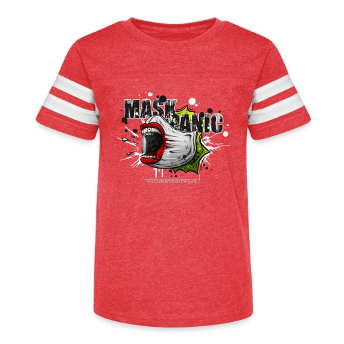 mask panic - Kid's Vintage Sport T-Shirt