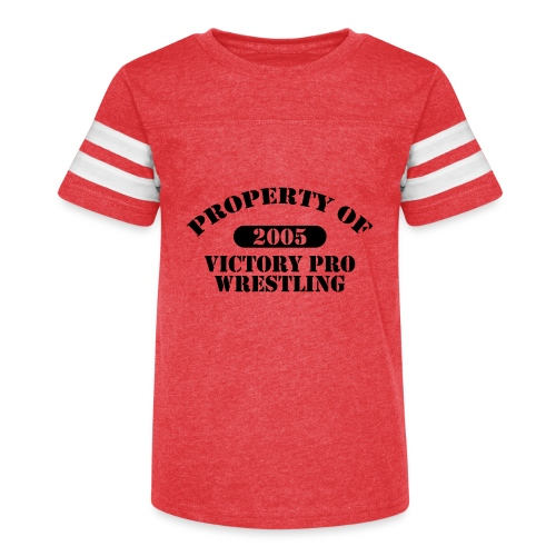 Property of Victory Pro Wrestling - Kid's Vintage Sport T-Shirt